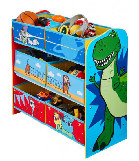 Toy Story 6 Bin Storage Unit Kids Bedroom Storage Toy Story Toddler Bed Storage Unit