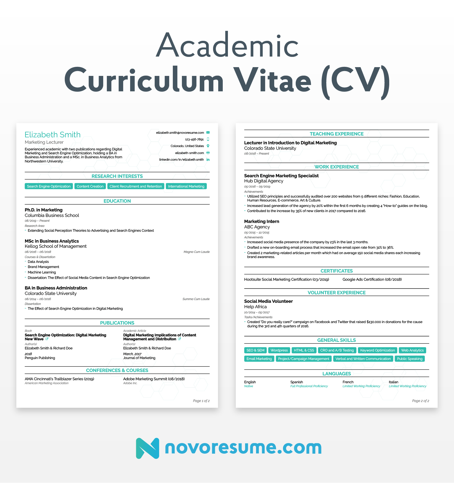 Cv Resume Difference Between