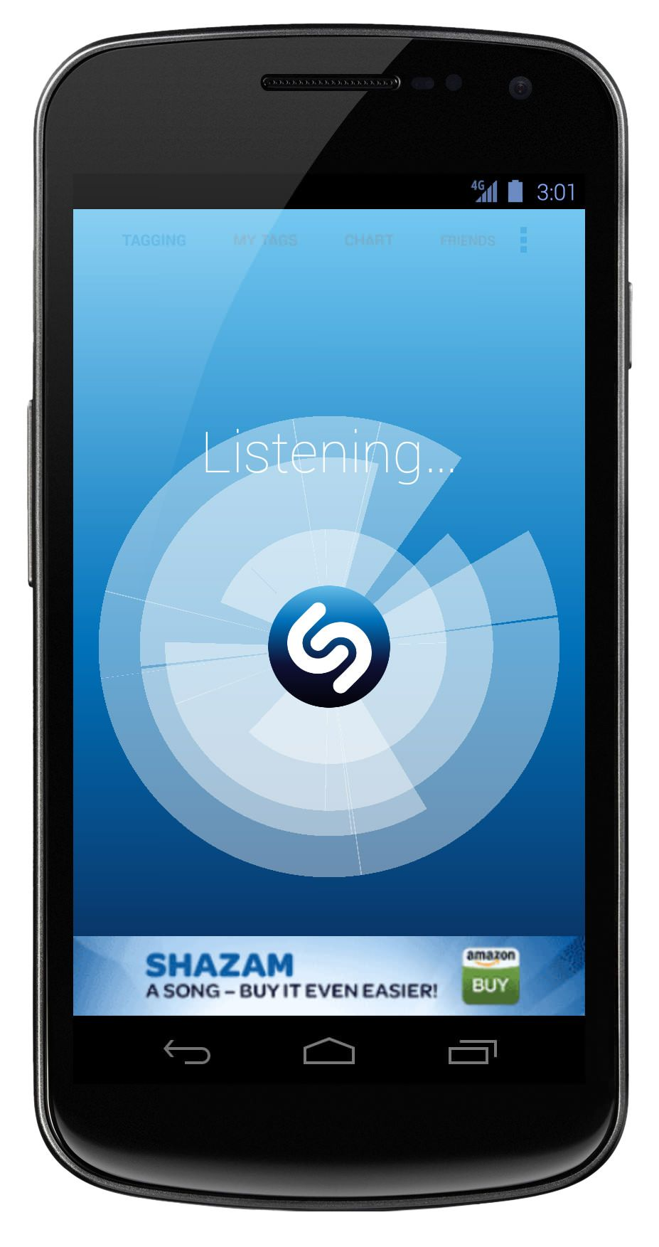 Shazam on Android now has lightningfast speed, with