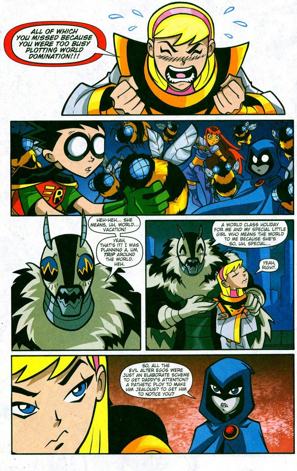 Kitten In Ttg Comics  Melissa Favorites  Teen Titans -3149