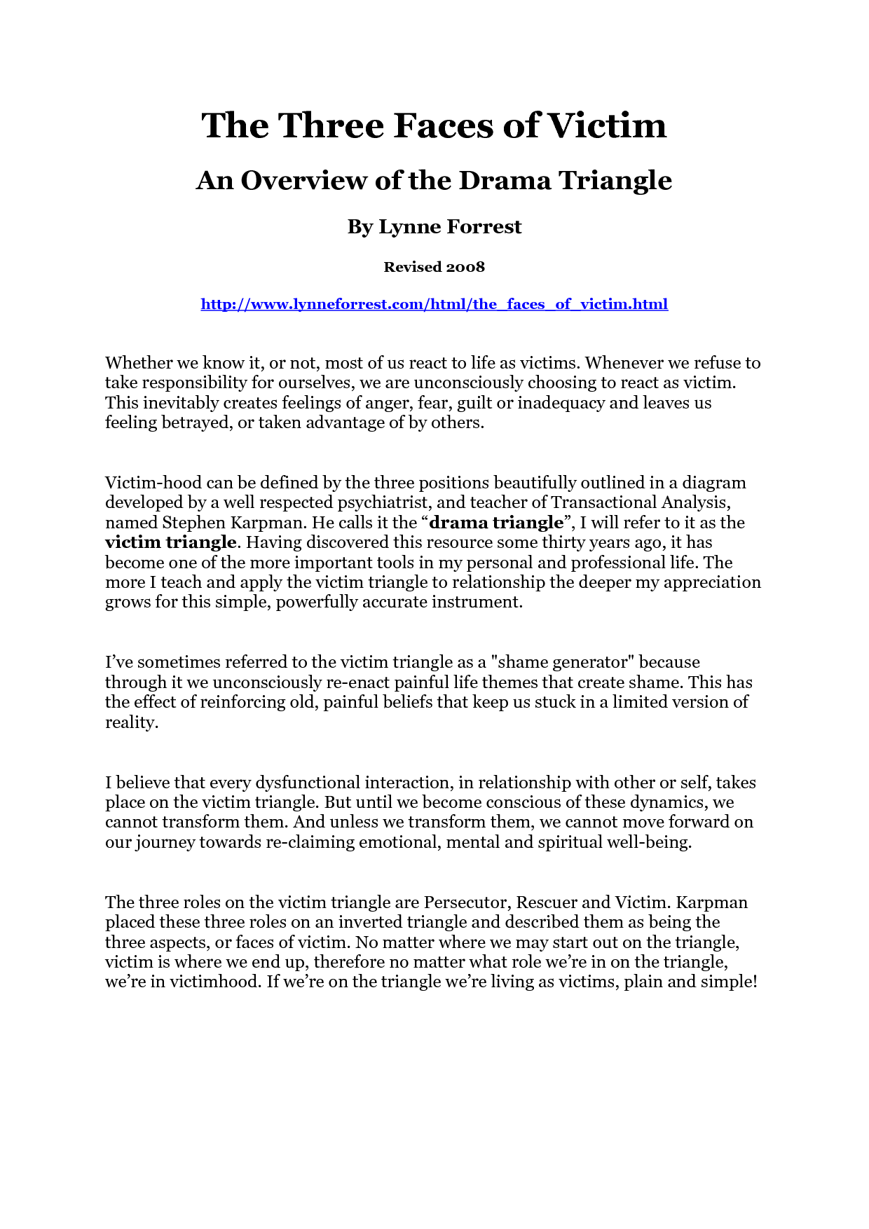 worksheet Drama Triangle Worksheet drama triangle pinterest triangles and counselling triangle