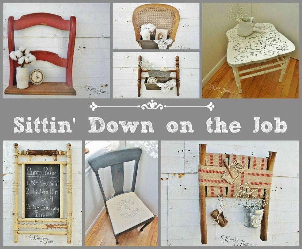 repurpose old furniture. Repurposed Broken Chairs Repurpose Old Furniture