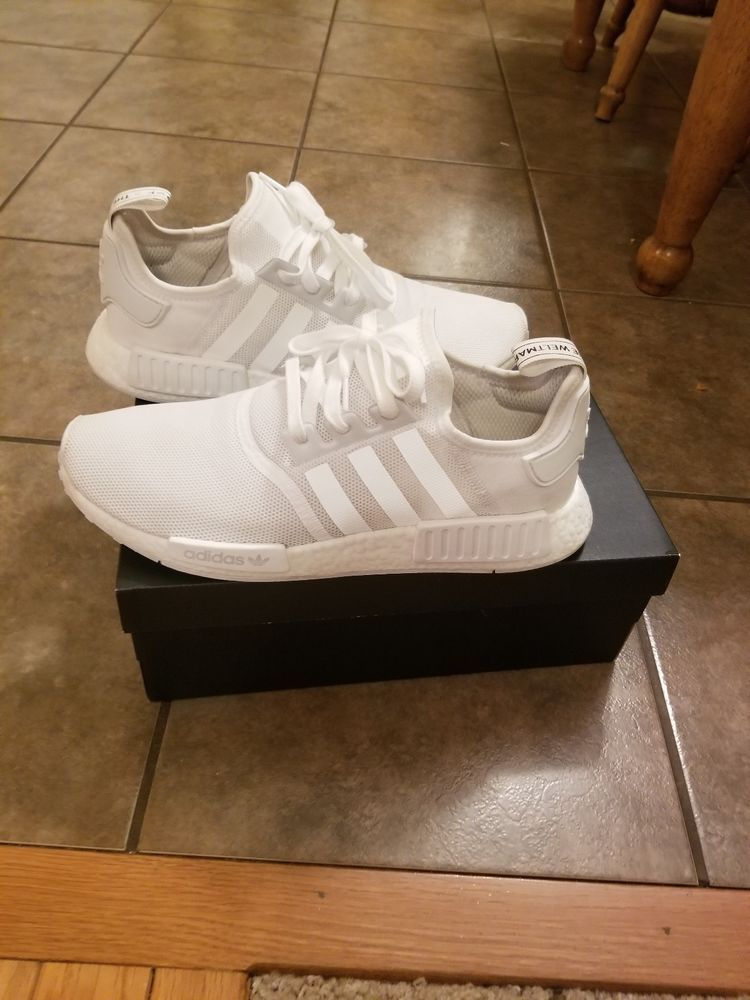 check out 45f9f c8074 Men's Adidas NMD R1 reflective White Boost S79166 - Mens ...