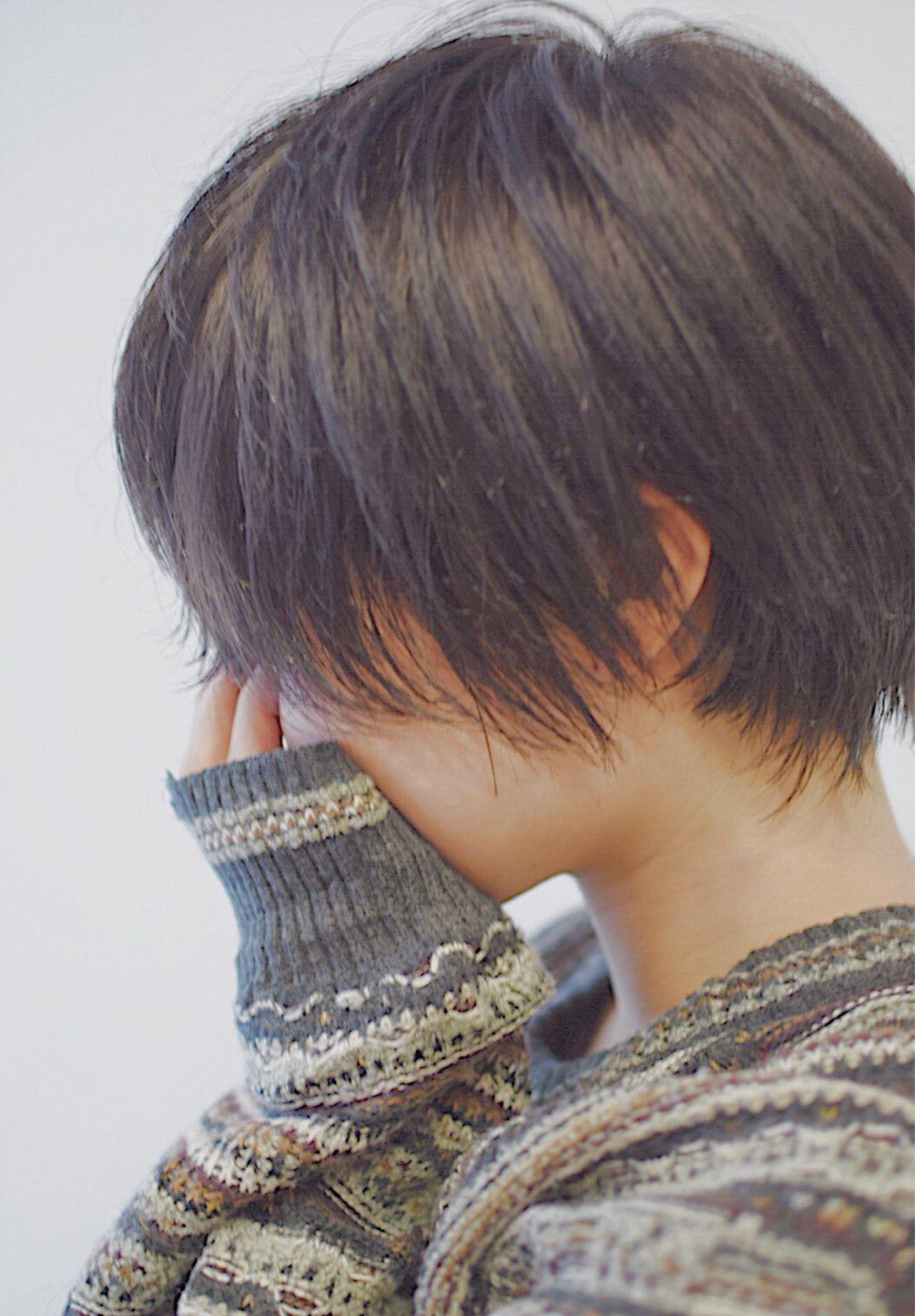 ボーイッシュ 髪型