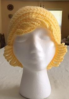 4 Name Crocheting Chemo Hat Crochet Pattern Haken Pinterest