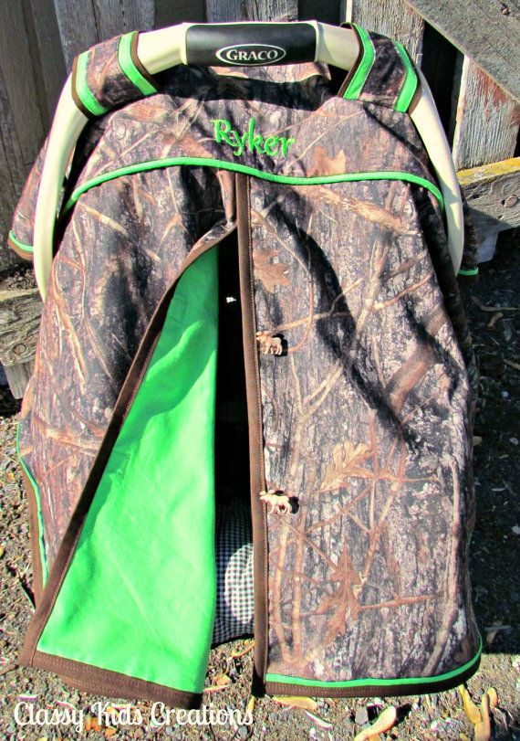 True Timber Camo and Bright Green Baby Boy Car Seat Canopy / Baby Carseat Tent / Infant Car Seat Canopy Cover / My Baby Blind on Etsy, $45.99 #boydollsincamo True Timber Camo and Bright Green Baby Boy Car Seat Canopy / Baby Carseat Tent / Infant Car Seat Canopy Cover / My Baby Blind on Etsy, $45.99 #boydollsincamo