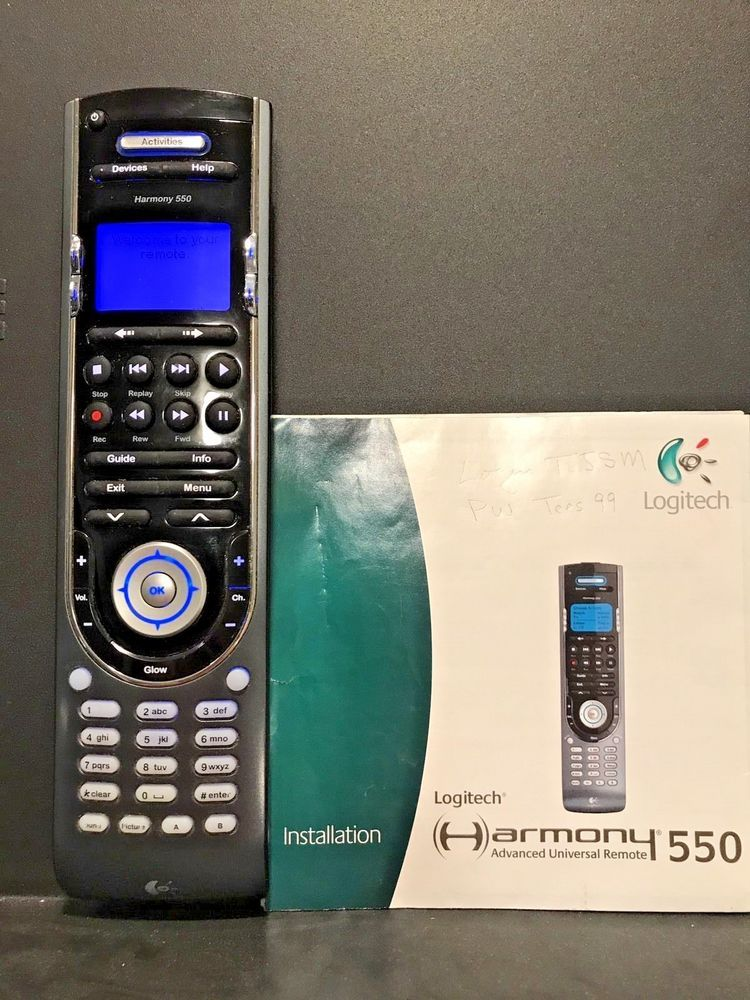 logitech harmony 550 programmable universal remote control with rh pinterest com Logitech Universal Remote Controls Harmony Ultimate Remote
