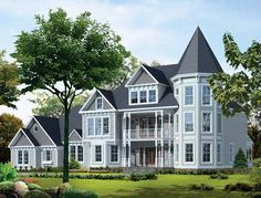 Eplans Victorian House Plan - Three-story Victorian - 5224 Square Feet and 4 Bedrooms(s) from Eplans - House Plan Code HWEPL05790