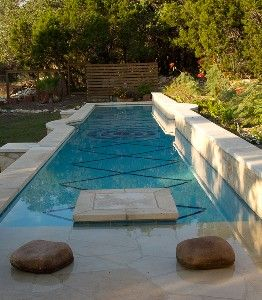 A Small Backyard Doesn 39 T Need To Stand In The Way Of A Pool This 50 39 Long Lap Pool Is Perfect