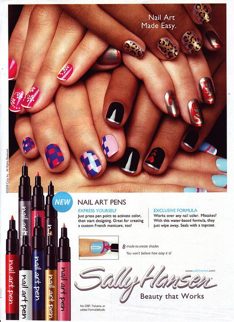 Sally Hansen Nail Art Pens | Products I Love! | Pinterest | Nail Art ...