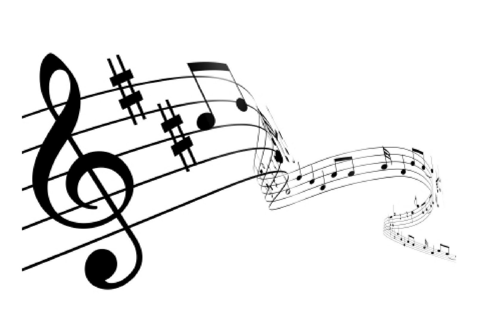 Music notes resemble the symbols and marks of music. In