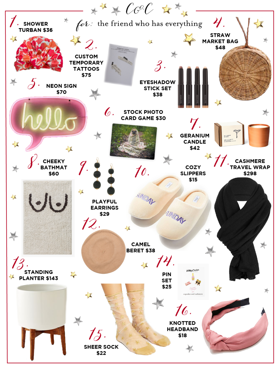 Gift Guide For The Best Friend Who Has Everything She Didnt Know Wanted