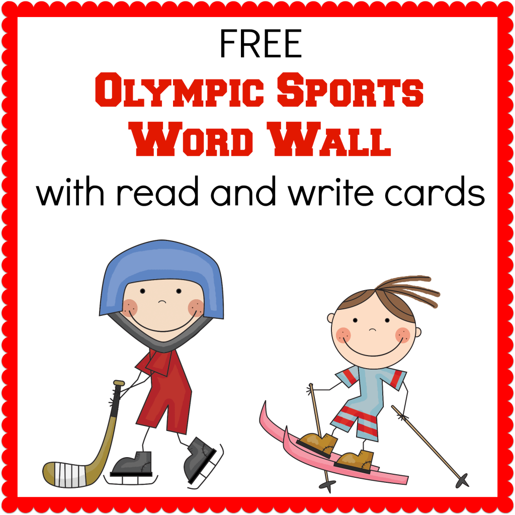 Winter Olympics Printables Olympic Printables Winter Olympics Olympic Sports [ 1024 x 1024 Pixel ]