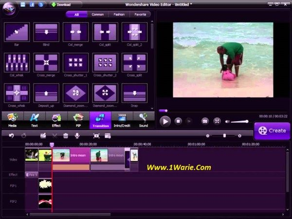 Wondershare video editor user manual