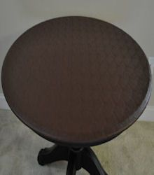 Tablecloths Fitted Vinyl Fits All Oval Tables Up To 72 Dark Brown
