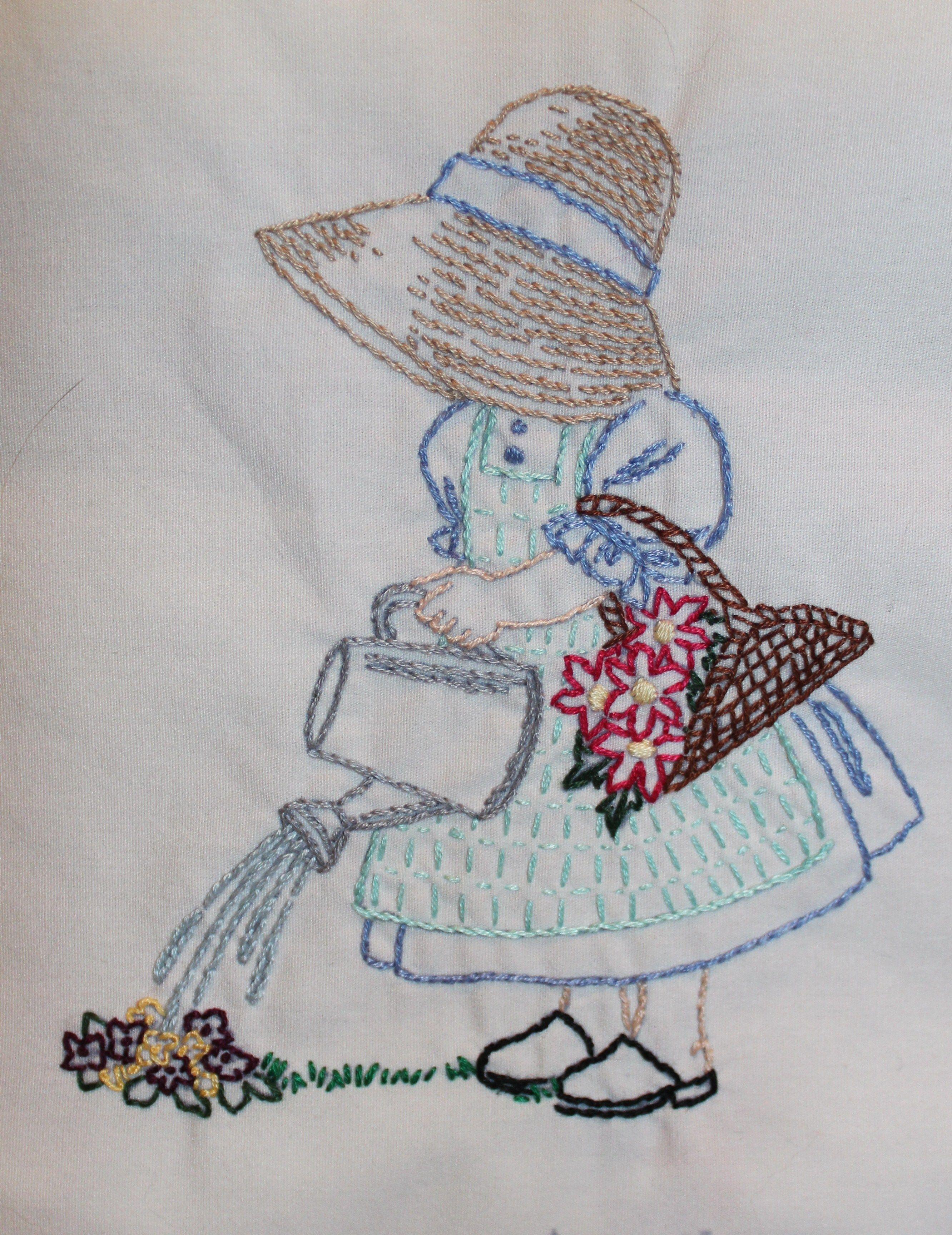 Sunbonnet Sue | cojines infantiles | Pinterest | Bordado, Muñecas y ...