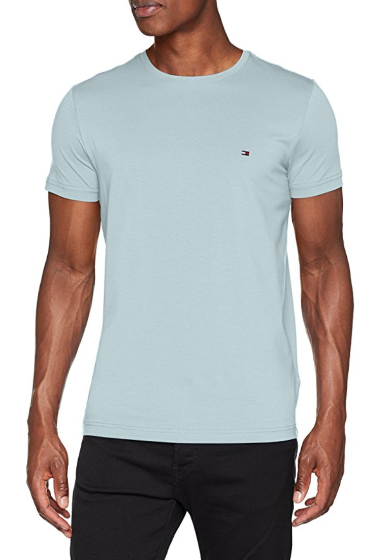 06765975 FOR SALE: Tommy Hilfiger Men's Stretch Slim Fit Tee T-Shirt | Cheap ...