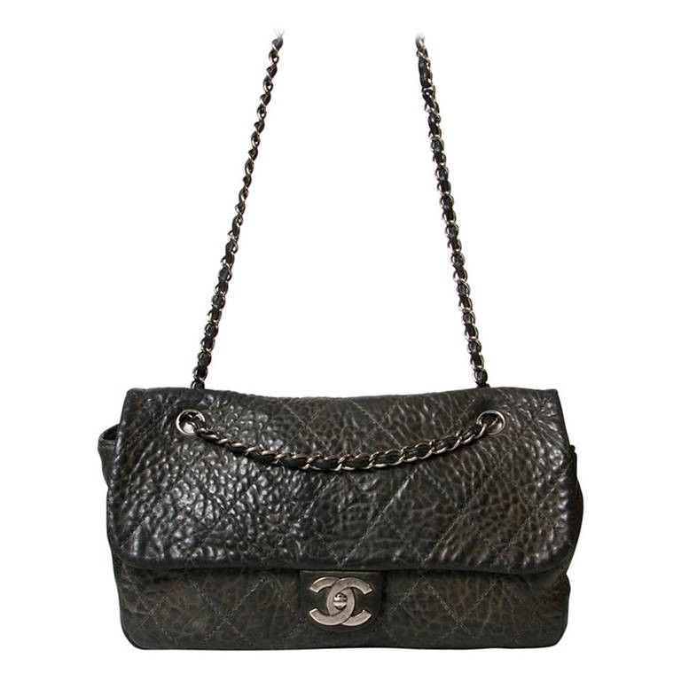Chanel Stone Grey Flap Bag Your go-to shopping place for vintage    pre-loved designer luxury. e677f1a966