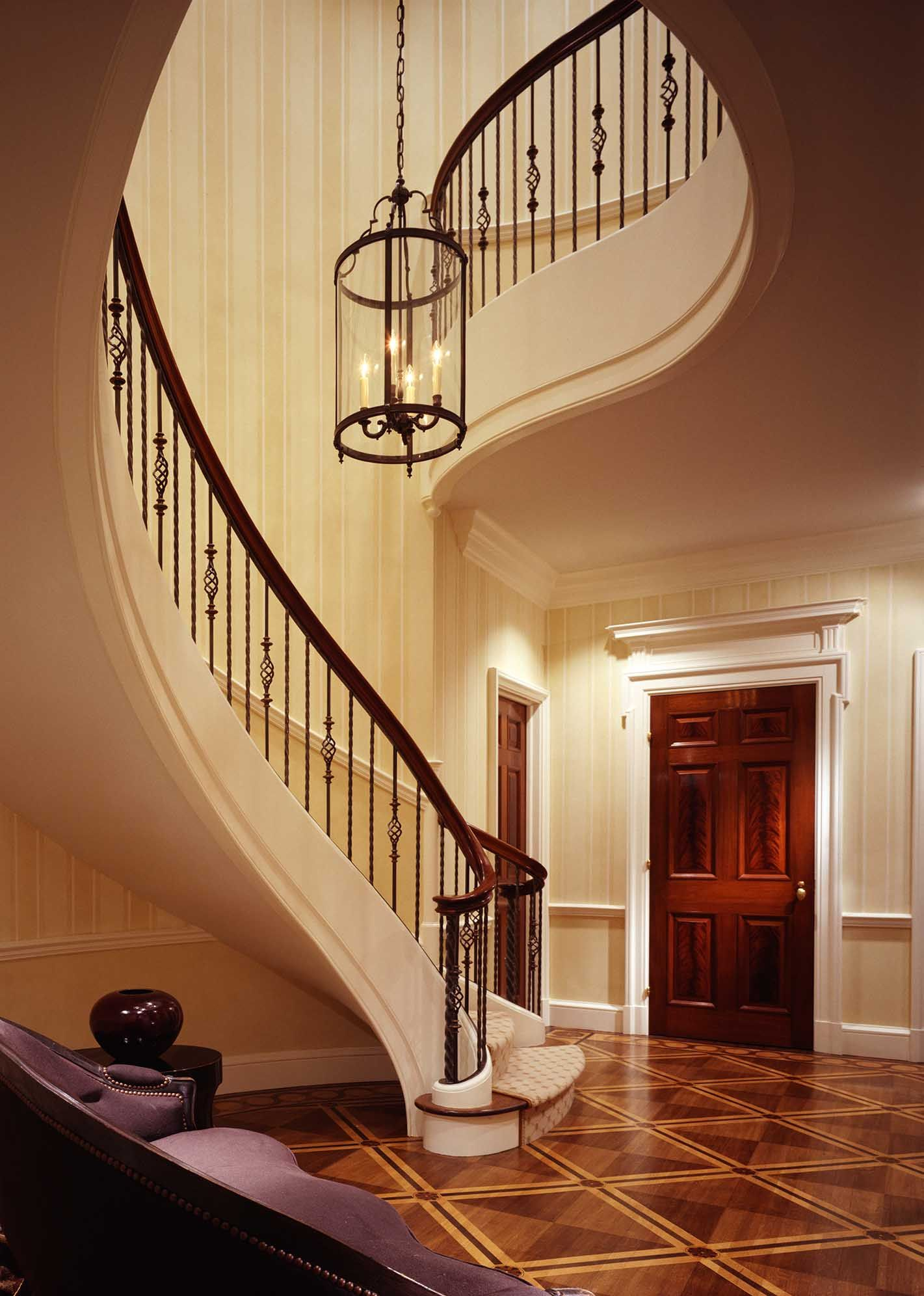 John B. Murray Architect Staircase french architecture