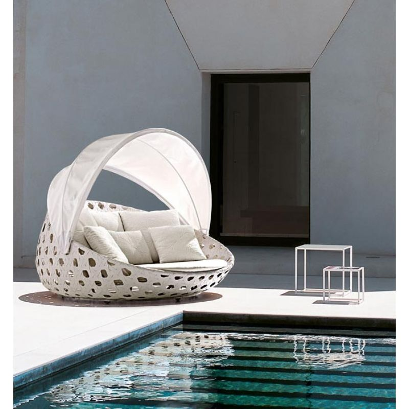 Bu0026B Italia Canasta Outdoor Loungesessel, Sofainsel 180 Cm