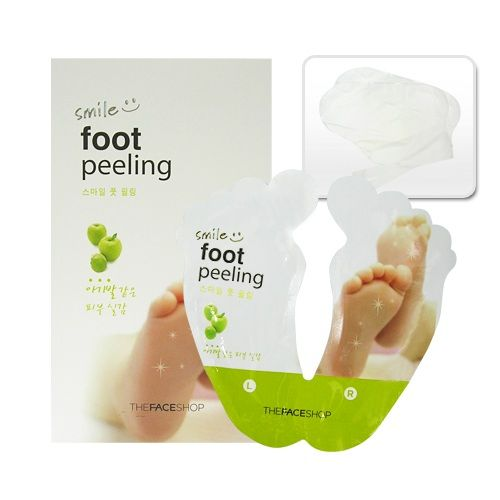 Photo of THE FACE SHOP Smile Foot Peeling|Soo this stuff is supposedl…