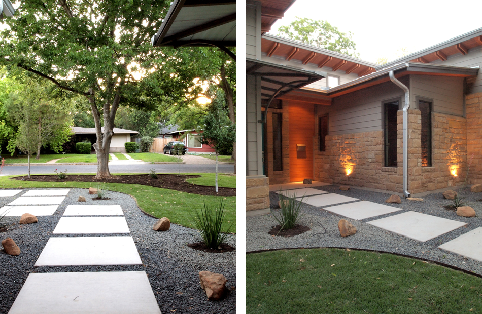 Simple Front Yard Landscaping Curb Appeal Driveways