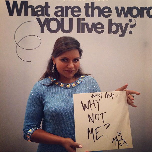 21 Celebs Share Their Words To Live By At Glamour S Women Of The Year Mindy Kaling Celebration Quotes Mindy