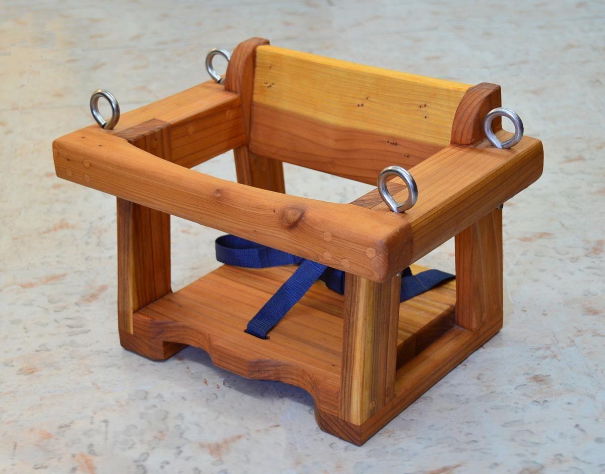Toddler swing seat options redwood no hanging hardware