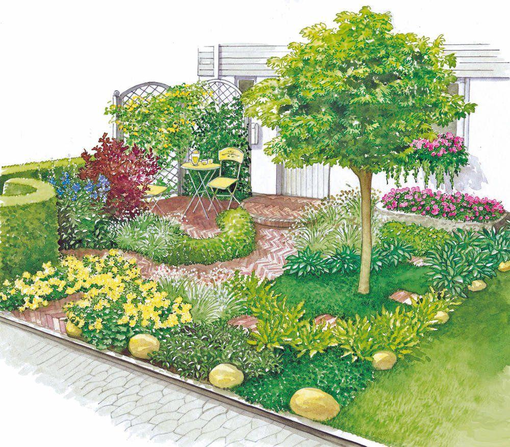 Kleiner Vorgarten Pfiffig Gestaltet Diy Garden Projects Front