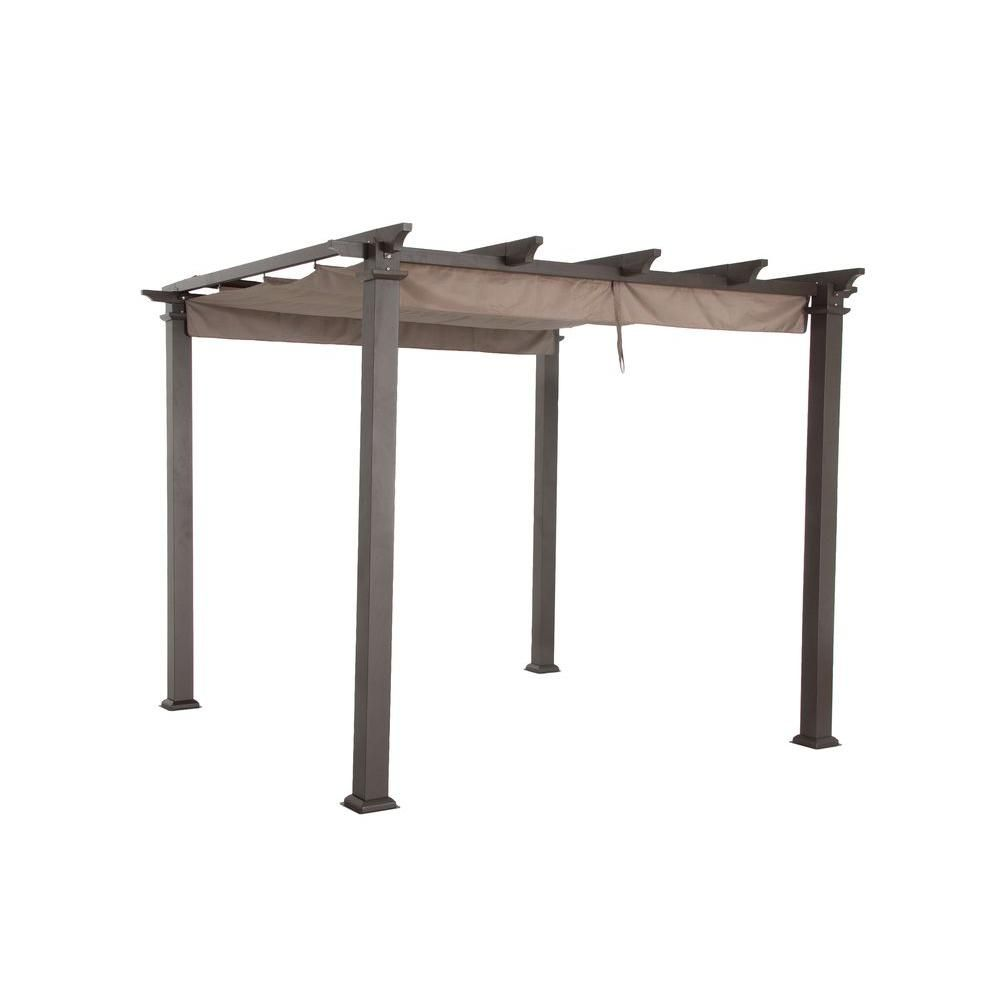 The Home Depot Logo Pergola Canopy Metal Pergola Steel Pergola