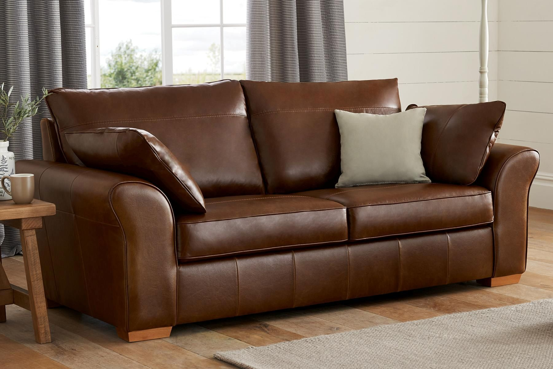 Buy Garda Leather Sofas & Armchairs from the Next UK ...
