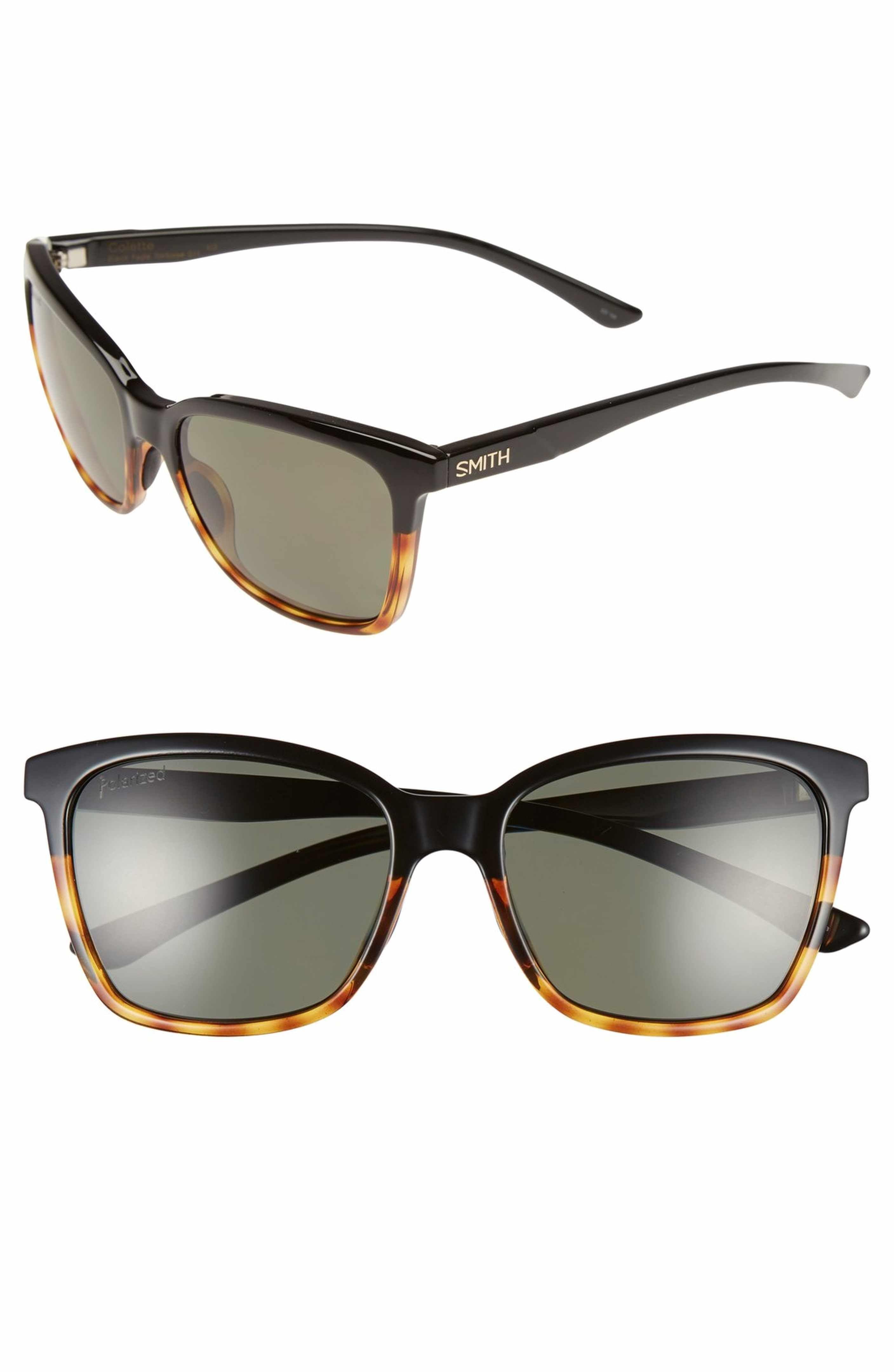 Smith Colette 55mm ChromaPop™ Polarized Sunglasses