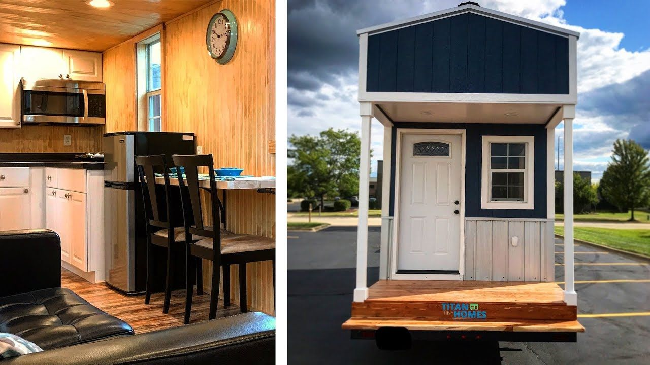 Absolutely cozy passage tiny house for sale by titan tiny