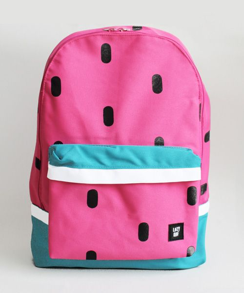 92bc2ee04 Bag to School - Watermelon bag by Lazy Oaf | Mr P Blog | Bags ...