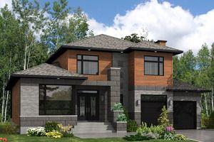 Modern Three Bedroom House Design 2400 Square Foot 3 Bedroom 2 12 Bath Modern House Plan  Super