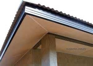 Roof Eaves Contemporary Garage Doors Metal Roof Roofing