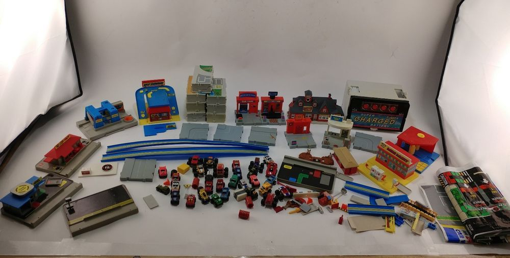 Huge Galoob Micro Machines Car Truck Travel City Play Set Building Assorted Lot Galoob Toys Vintagetoys Galoob Micromachin City Travel Cars Trucks Playset