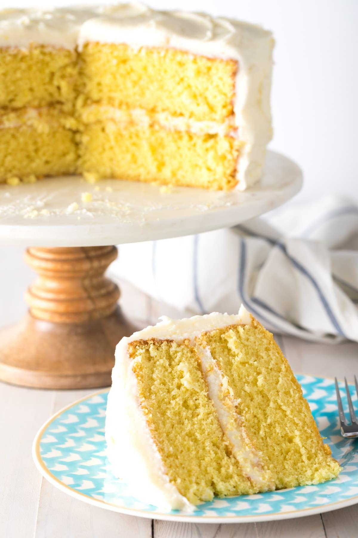 e4ce97a49c5c Best Lemon Buttermilk Cake Recipe  ASpicyPerspective  lemon  cake  easter