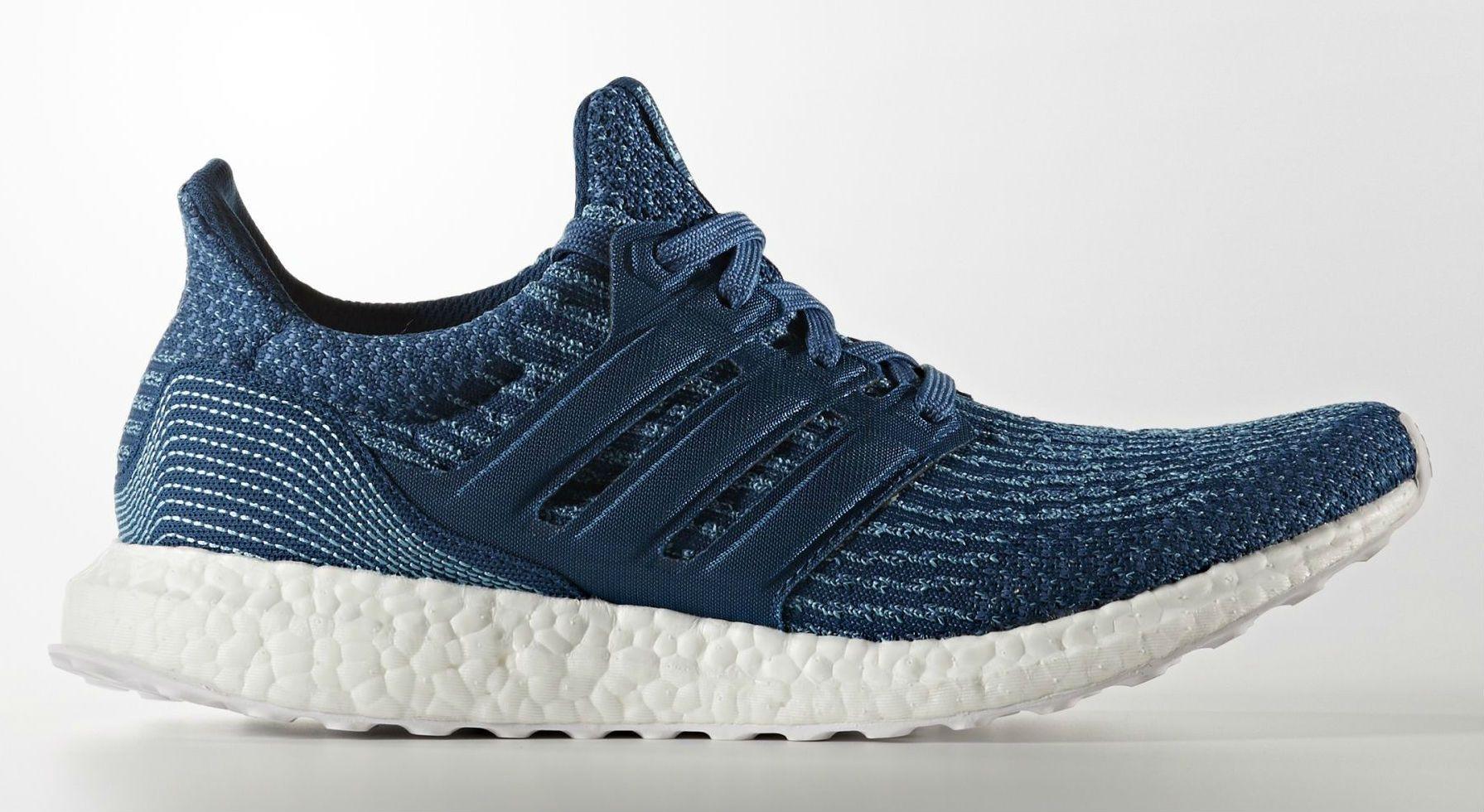 Parley x adidas Ultra Boost Blue Men's Side BB4762   Adidas