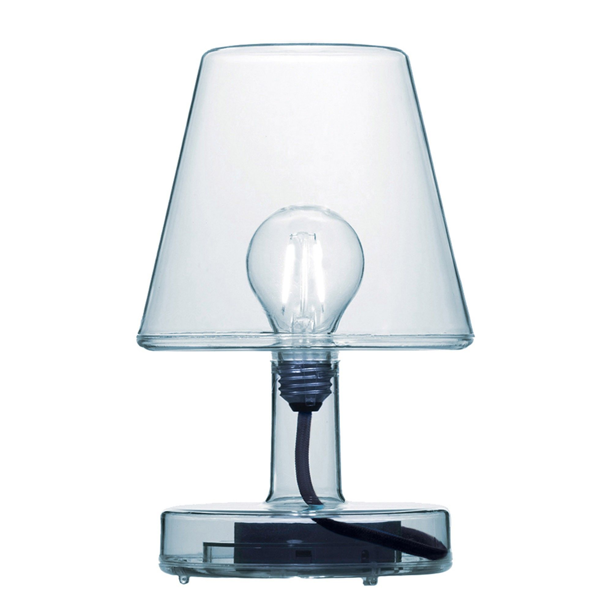Lampe De Table Transloetje Sans Fil Bleu Fatboy Table Lamp Lamp Table Lamp Base