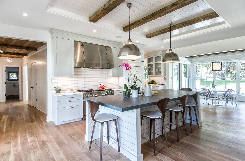 Best Galley Kitchen Ideas Farmhouse With Shiplap Midcentury Bar 640 x 480