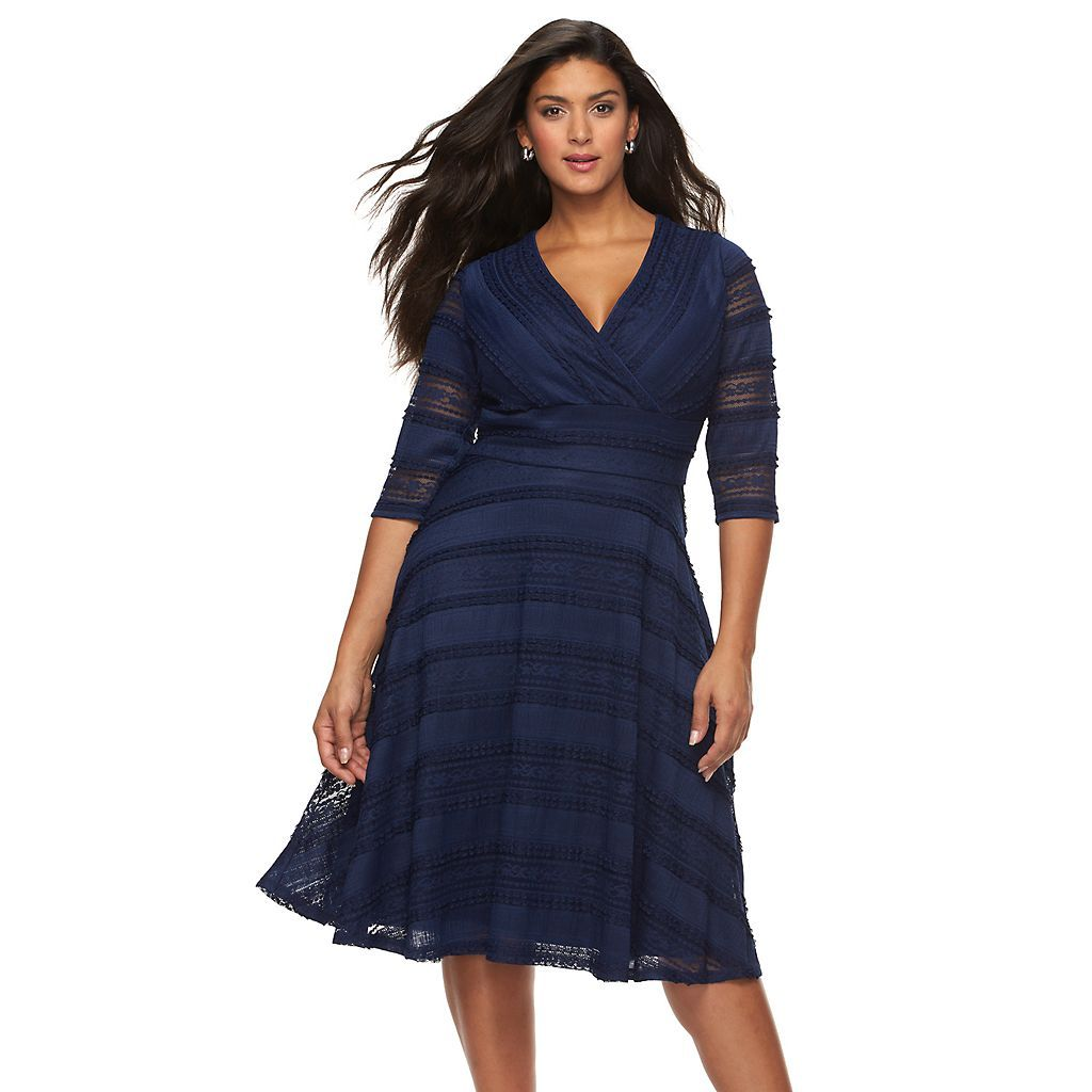 Pin By Andrene8 On Moda In 2021 Plus Size Fashion Plus Size Fashion For Women Fit Flare Dress [ 1024 x 1024 Pixel ]