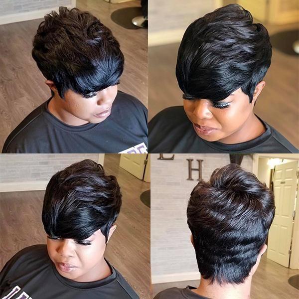 Best design | Beautiful Short Straight Hair Wig – 002