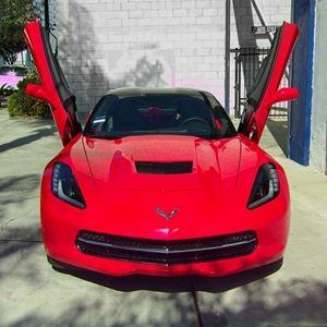 Corvette Lambo Style Vertical Doors Hinge Conversion Kit C7 Stingray Z51 Z06 Grand Sport Lambo Corvette C7 Stingray