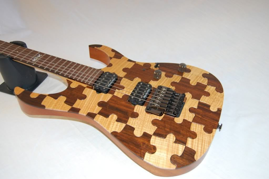 rare ibanez puzzle piece rg j custom the 90 39 s j customs have a unique flare to be sure cool. Black Bedroom Furniture Sets. Home Design Ideas