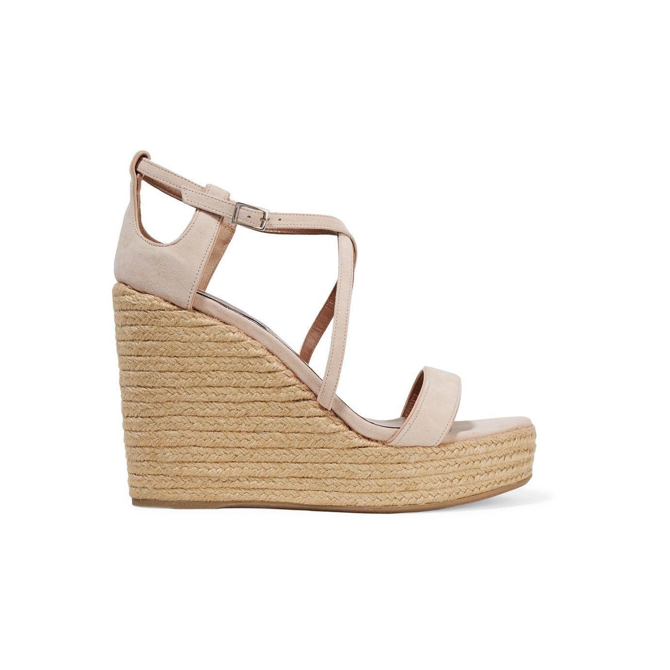 a19a0de2aab7 Tabitha Simmons Jenny Flesh Wedges Platform Wedges Shoes, Wedge Shoes,  Wedge Sandals, Tabitha