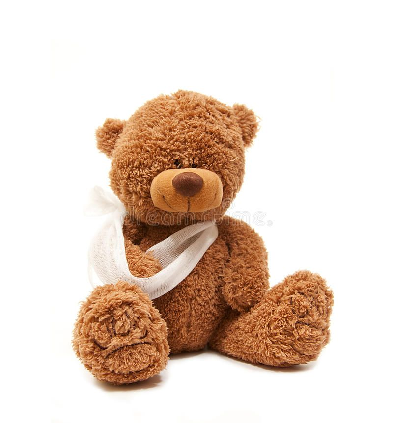 Broken Arm Teddy Bear