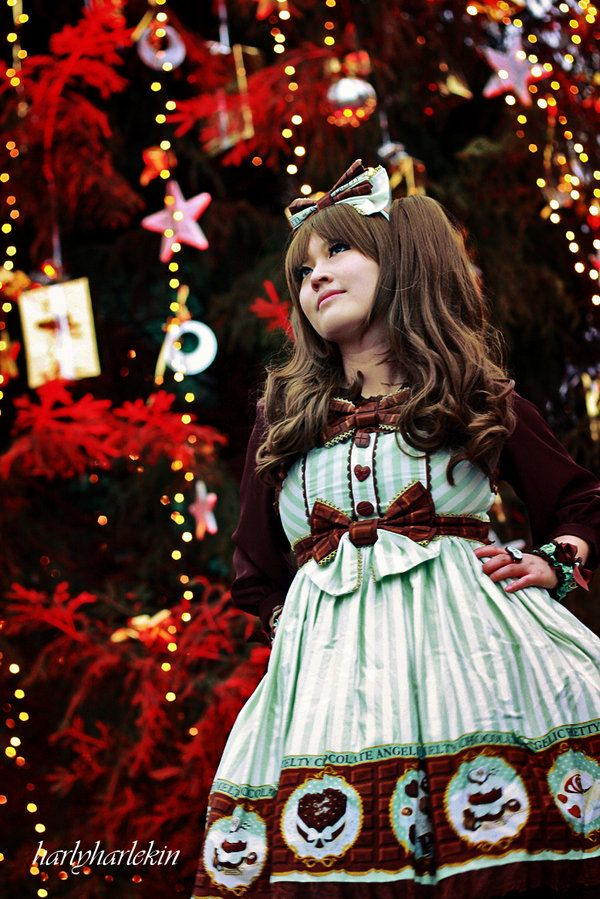 Chocolate Christmas I by harlyharlekin.deviantart.com on @deviantART