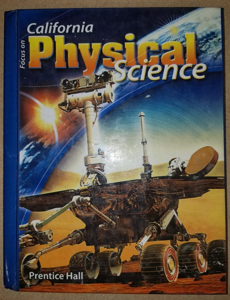 Focus On California Physical Science Prentice Hall