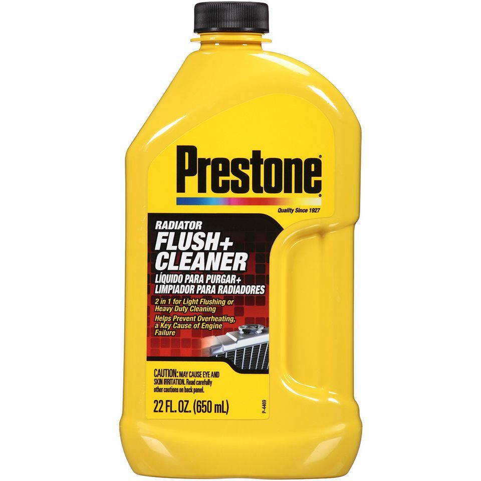 Prestone 22 Oz Radiator Flush & Cleaner (Car care/cleaning)